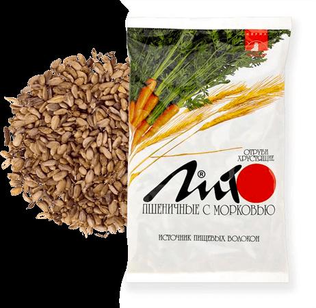 Лито, пшеничные с морковью