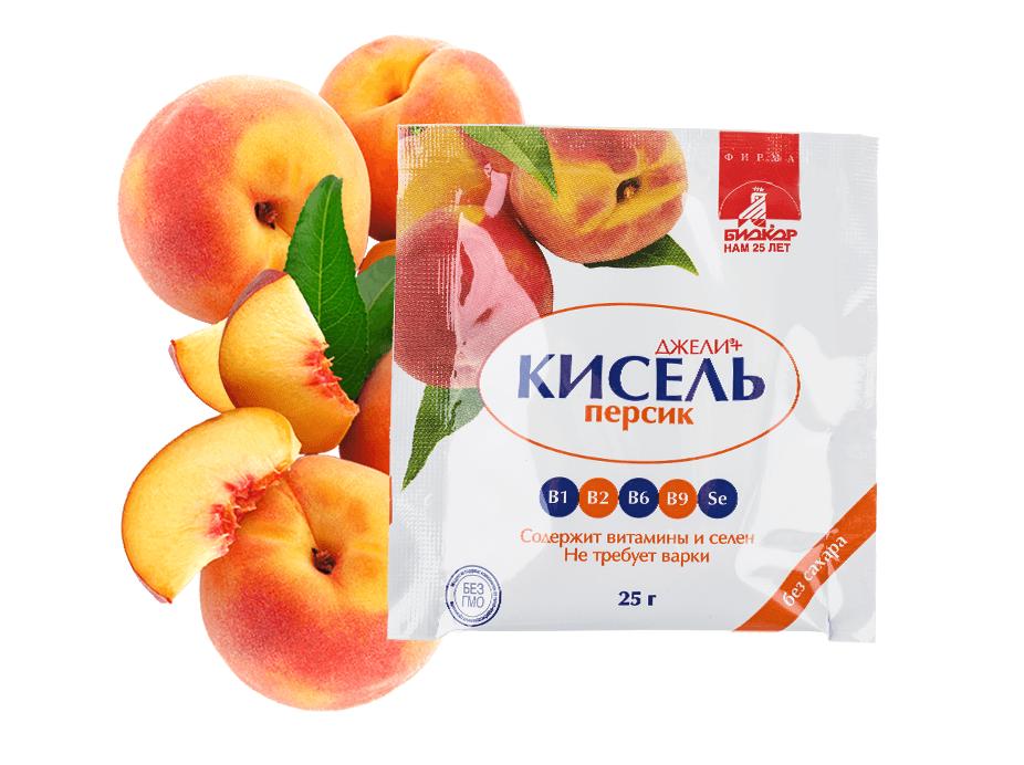 кисель персик